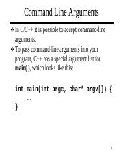 how to pass command line arguments in c console application