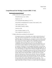 Gospel Research & Writing #6.docx