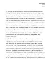 English essay about inequality