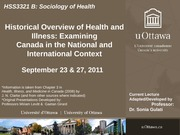 LECTURE 3 - Canada in National & International Context