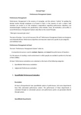 Concept Paper-Performance Management