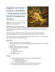 English 12 A Unit 1 Portfolio Foundations.docx