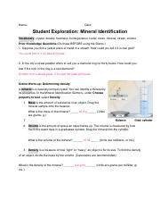 2.3 Mineral Identification SE.pdf - Name Date Student ...