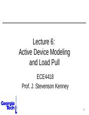ECE4418+Lecture+6+-+Active+Device+Modeling.pptx