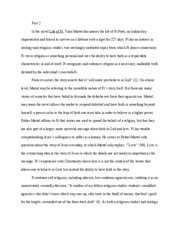 philosophy paper part 2