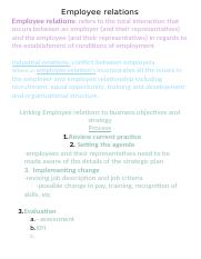 2580Employee relations By Christine Formosa .docx
