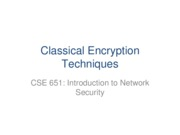 2-Classical Encryption