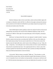 Warren Buffet Essay .docx