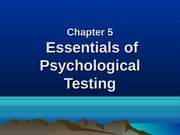 Ch 5 Psychological_testing_Relia_n_Validity_
