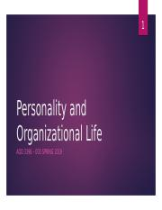 Chp 6 Personality and Organizational Life.pptx