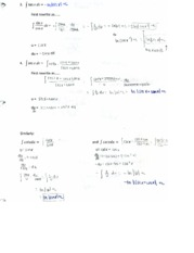 trig integral problems
