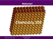Lecture 1- Intro to Chem 103