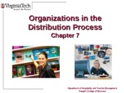 Chapter+7+Organizations+in+the+Distribution+Process