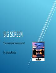 Big Screen - Learning Group