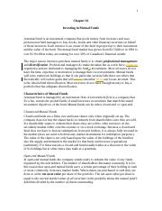 Week 10 - Chapter 16 - Investing in Mutual Funds.docx