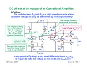 Operational Amplifier notes