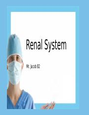 Renal System_Urinary