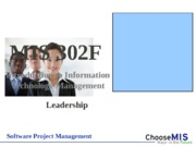 Software Project Management - show