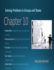 chapter 10 solving problems in groups and teams.pptx