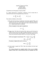 ECO364 Winter 2014 IRTS Problem Set (Solutions)