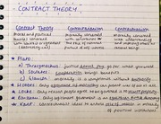 Philosophy - Contract Theory
