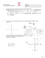 M328 - Quiz Chapter 4B with Answers
