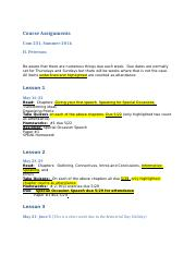 COM 231 Course Assignments(1).docx