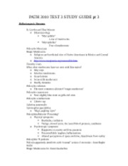 PATH 3010 TEST 3 STUDY GUIDE pt 3