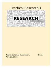 activity for today (Mar 23) in Research.docx