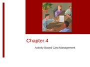 POSTEDWE-3213-2011-Chap004Activity-Based Costing