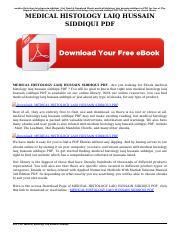 Hussain histology pdf laiq by