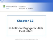 Nutrition Chapter_12  lecture notes