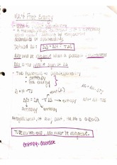 Free Energy notes