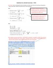 CH 13 Manual and Excel Solutions for selected exercises(1).docx