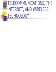 Topic 7 - Business telecommunications and networks.ppt