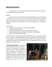 18th To 19th Century Art written report