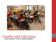 Gender and Education Notes