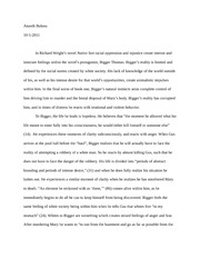 response paper - native son