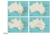 AUS - Travel Route Map