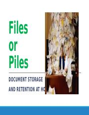 Tjd Files or Piles