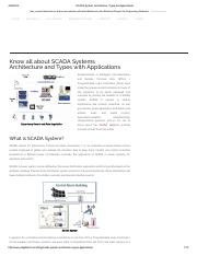 SCADA System Architecture, Types and Applications.pdf