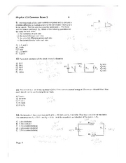 Phys 121 Spring 08 Exam 2 Pg 3