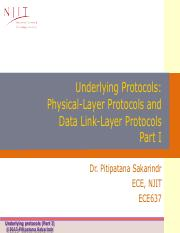 Lecture2_Underlying Protocols Part I