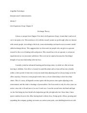 Chapter 9 Life Experience Essay.docx