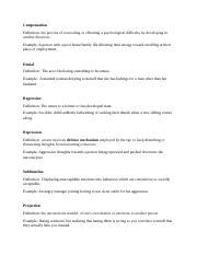 Mena Salama Defense Mechanisms Defense Mechanisms Directions
