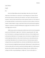 purple hibiscus essay humanities mr sam bob jenkins  3 pages literary analysis purple hibiscus