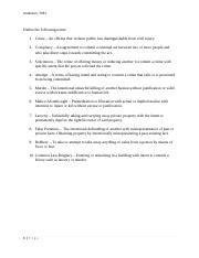Criminal Law 612 Assignment 1 Anderson 7781.docx