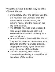What the Greeks did after they won the Olympic Games.docx