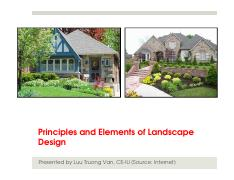 17-Civil Architecture-Principles of landscape design
