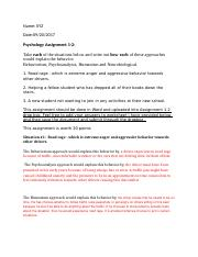 Psychology Assignment 1-2 Help document Word.doc